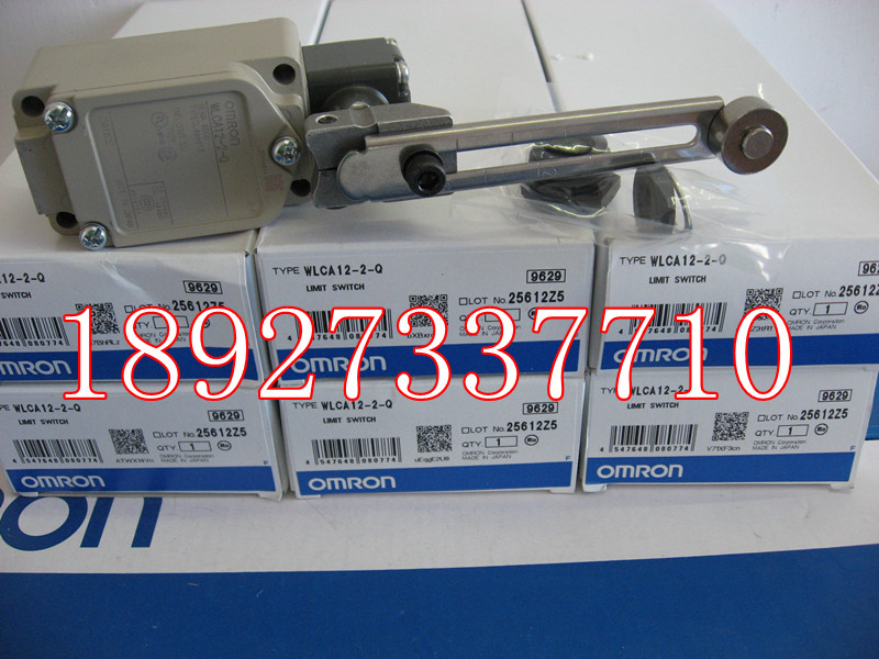 [ZOB] Supply of new original Omron omron limit switch WLCA12-2-Q  --2PCS/LOT [zob] supply of new original omron omron limit switch shl w2155 5pcs lot