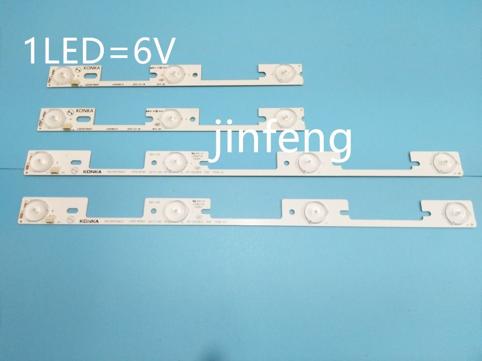 2*3led*6v+2*4led*6v Constructive New Kit 4 Pcs Led Backlight Strip For Kdl32mt626u 35019055 35019056