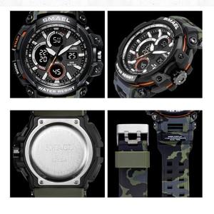 Image 4 - SMAEL Sport Watches Waterproof Men Watch LED Digital Watch Military Male Clock Relogio Masculino erkek kol saati 1708B Men Watch