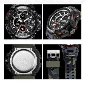 Image 4 - Smael Sport Horloges Waterdicht Mannen Horloge Led Digitale Horloge Militaire Mannelijke Klok Relogio Masculino Erkek Kol Saati 1708B Mannen Horloge