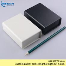 Пластиковый корпус коробка для электронных diy пользовательских распределительных коробок ABS diy для печатных плат проект инструмент чехол 105*75*36 мм два цвета IP55