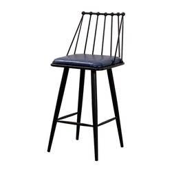 2018 новый стиль уникальный простой круглый железный стул с полым Сиденье Барный Стул 6024