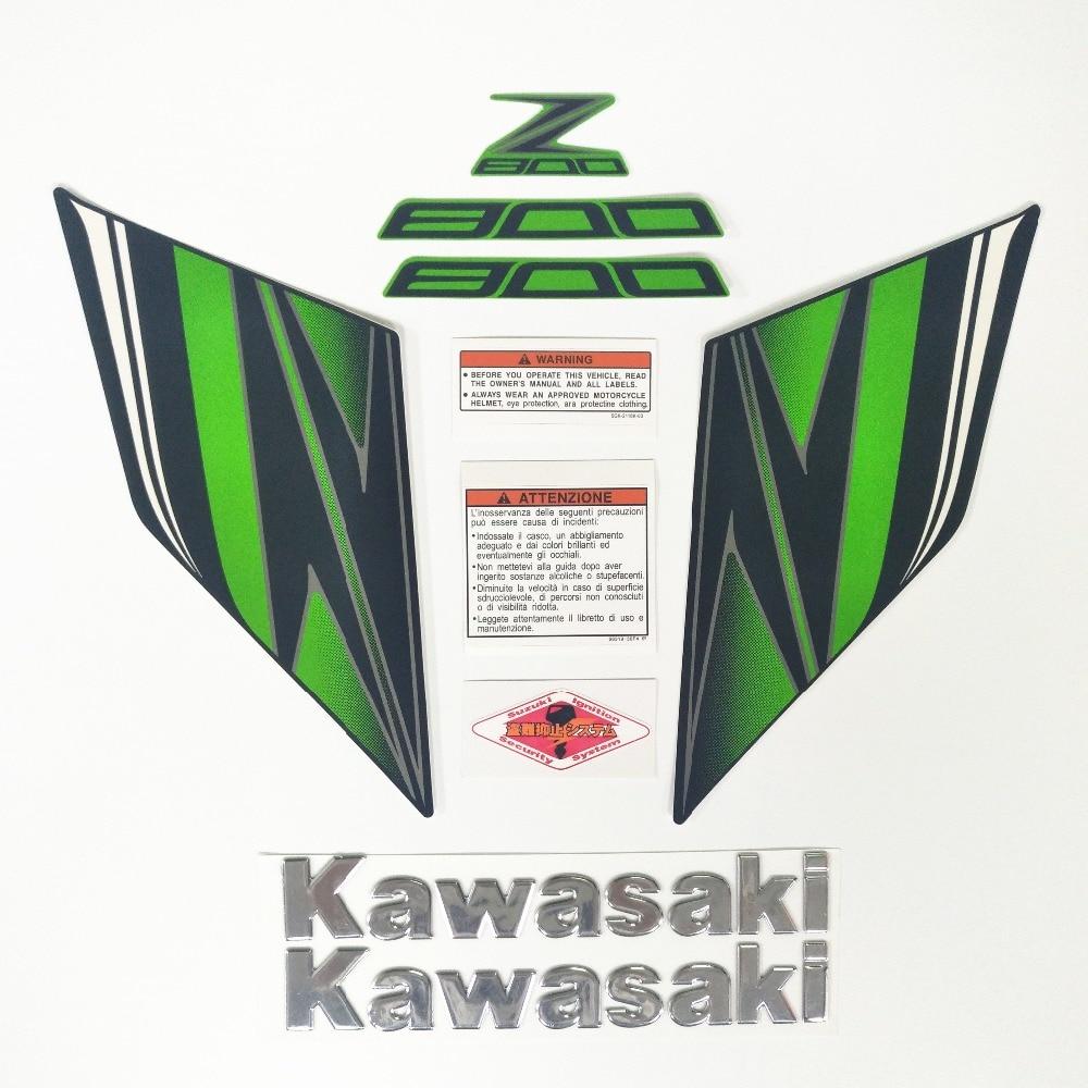 Для Kawasaki Z800 Z 800 2013 2014 2015 2016 Стикеры s полный комплект мотоциклов весь автомобиль Стикеры