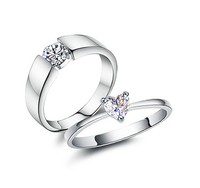 Engraved Mens Wedding Rings Couples Promise Rings 925 Sterling Silver Jewelry