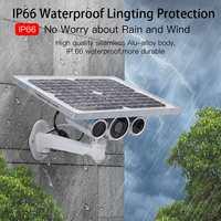 Wi Fi, 4G 1080 P открытый P2P обнаружения движения, видеонаблюдения Камера 2019 Солнечный Мощность Беспроводной видео, для наблюдения, безопасности,
