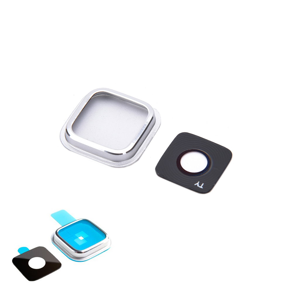 JINHF For Samsung Galaxy S5 i9600 G900 G9005 Camera Glass Lens Ring Cover Replacement image