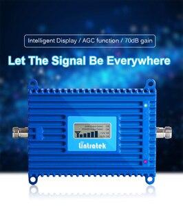 Image 4 - Lintratek 4g LTE 2600 mhz Banda 7 70dB 2600 mhz Celular Amplificador Repetidor de Sinal de Telefone Celular Repetidor De Sinal de Celular com repetidor de antena 4g reforço de sinal gsm Função ALC e cabo de 15m celular