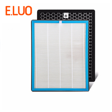 цена на The activated carbon air filter+hepa filter cleaner parts, high efficient composite air purifier parts TKJ-F255A TKJ-F255B