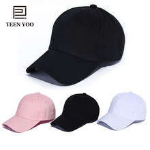 2018 Fashion Baseball Hat Canvas Solid Unisex Adult Summer Caps Lovers Outdoor Sport Snapback Casquette Femme