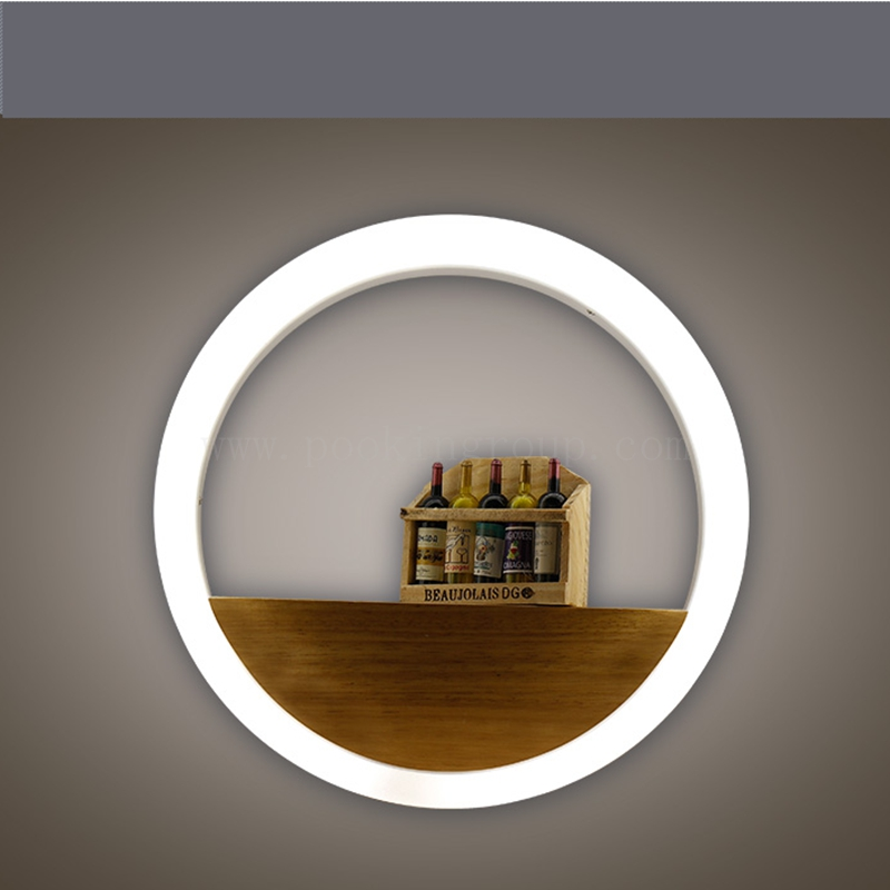 Ceiling Lights & Fans 2017 New Ac85-265v Minimalism Creative Art Led Wall Decoration Lamp For Bedroom Stairs Living Room Background 20/30/40cm Quality And Quantity Assured