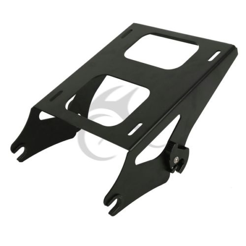 Two Up Tour Pak Pack Mounting Luggage Rack For Harley Touring Road King Street Glide FLHR FLHT FLHX FLTR 2014-2017 Black 2 up tour pak mounting luggage rack for harley touring flhr flht flhx fltr 14 16