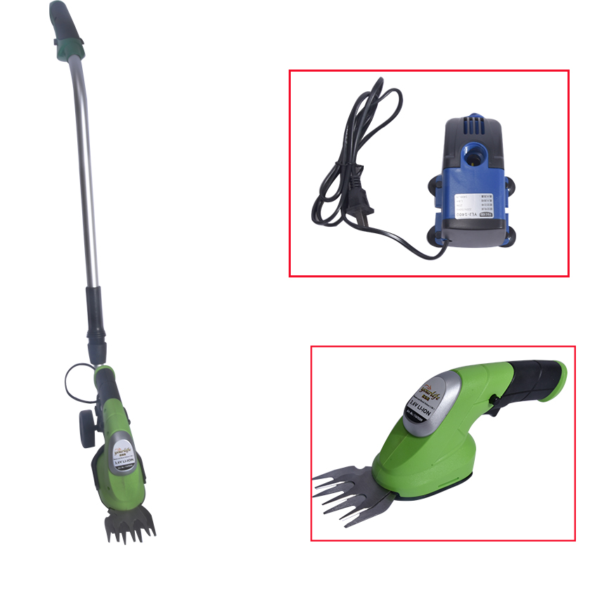 1000/min 3.6V DC lithium battery portable rechargeable electric mower MG809 grass shears small grass trimmer mower hot selling small wholesale manufacturers lithium rechargeable lithium finished 401 235
