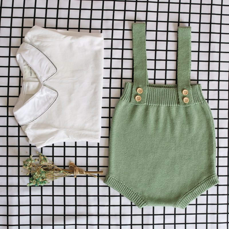 New 2019 Baby Knitting Rompers Cute Overalls Newborn Baby Boys Clothes Infantil Baby Girl Boy Sleeveless New 2019 Baby Knitting Rompers Cute Overalls Newborn Baby Boys Clothes Infantil Baby Girl Boy Sleeveless Romper Jumpsuit 0-24M