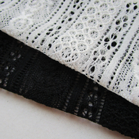 270cm 150cm Fashion French White Soft Lace Fabric Sewing Swiss Trim Lingerie Cloth Vintage Wedding Dress