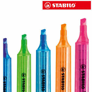 Image 2 - PenImported 8pcs/set STABILO Swing Cool Highlighter 275 cool pen Highlighter Marker Mark Colorful color
