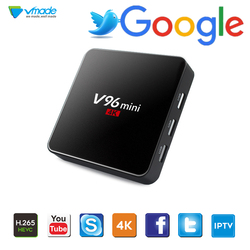 Vmade V96 mini Android TV BOX Android 7.1 Smart TV Box 2GB 16GB Amlogic TV Receiver Quad Core 2.4GHz with WiFi Set top boxes