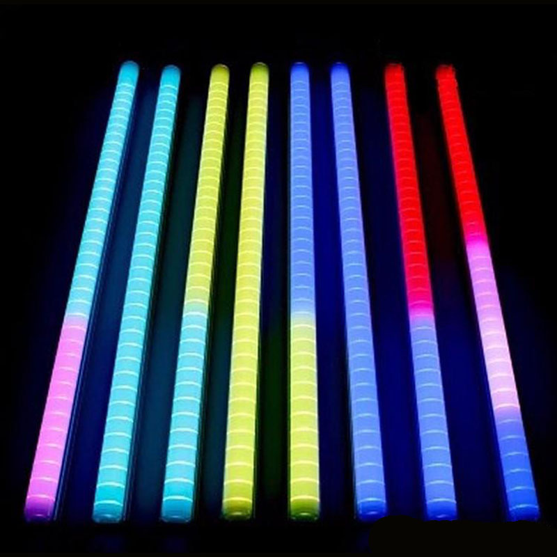 25pcs lot led neon bar ac220v led digital tube led tube rgb color waterproof outside. Black Bedroom Furniture Sets. Home Design Ideas