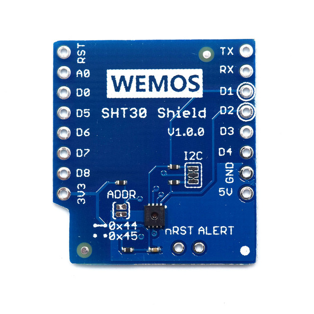 SHT30 Shield for WeMos D1 mini SHT30 I2C digital temperature and humidity sensor module