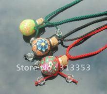 Fragrance vial necklace, perfume bottle necklace pendant