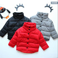2016 winter jacket for girls cotton-padded Parkas clothes baby girls&boys turtleneck coat jackets kids coats outwear 3-9 Years