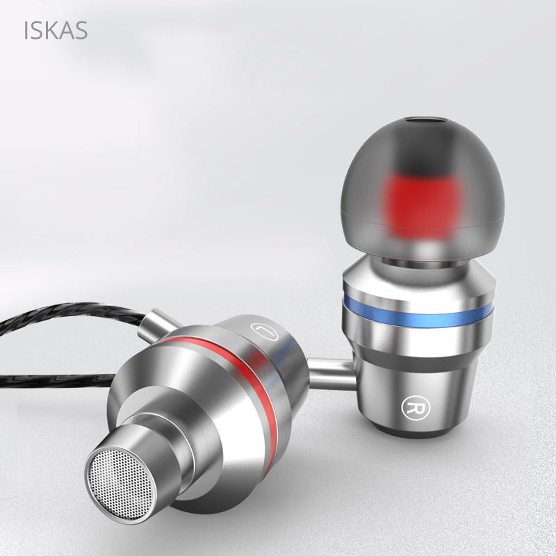 ISKAS Headphones For A Cell Telephone 3.5Mm Ear Telephone Bass Authentic Bass Know-how Music Computer Sport New Client Electronics 3184 Telephone Earphones & Headphones, Low-cost Telephone Earphones & Headphones,...