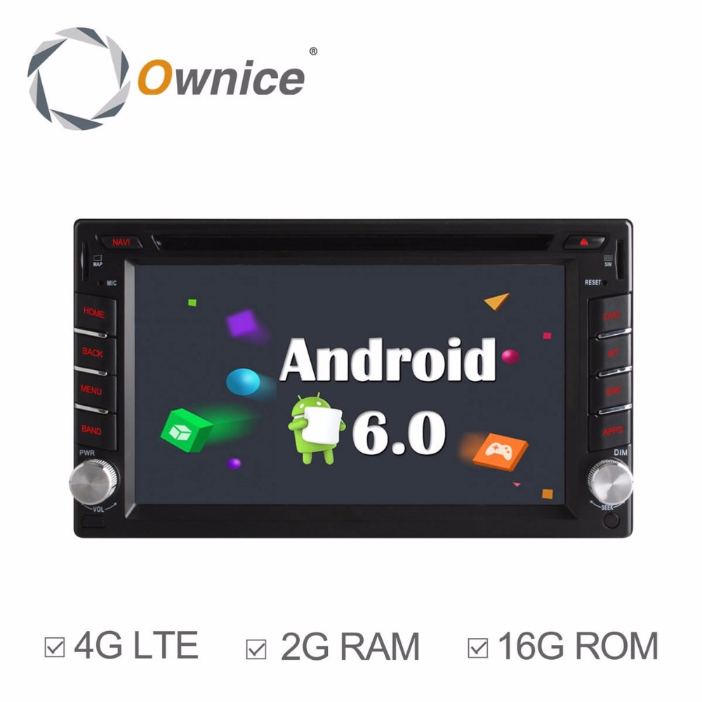Universal 2din Android 6.0 Car DVD player For NISSAN TIIDA 2004 2010 QASHQAI 2007 2010 SUNNY 2005 2011 X TRAIL 2001 2011 Car
