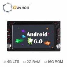 Универсальный 2Din Android 6.0 dvd-плеер автомобиля для Nissan Tiida 2004-2010 QASHQAI 2007-2010 солнечный 2005- 2011 X-TRAIL 2001-2011 автомобилей