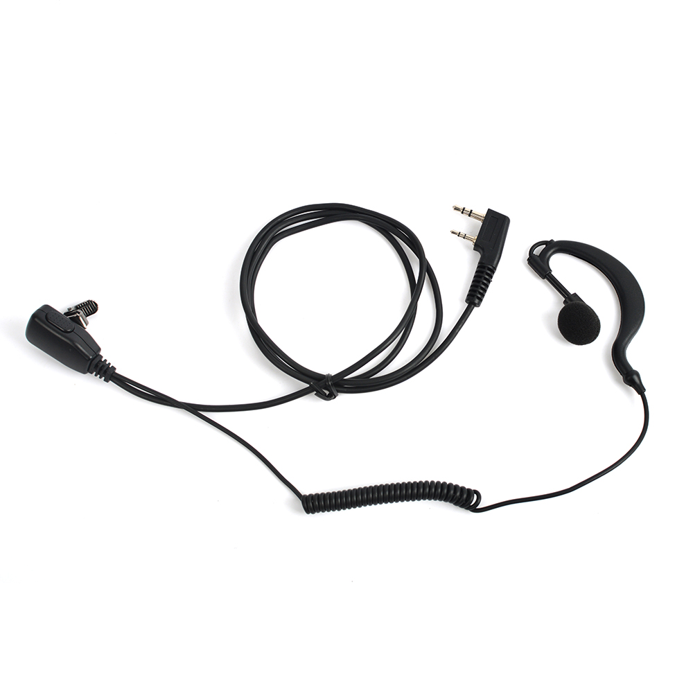 G-type headphones Two-way radio 2-way walkie-talkie earphones TH-22A TH-235 TK-378 radio headphones