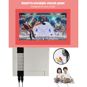 Image 5 - Gry wideo 620 klasycznych gier Port AV Retro mini telewizor ręczny wypoczynku rodzinnego konsola do gier wideo US wtyczka podwójny Gamepad odtwarzacz