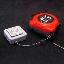 50 шт. кабель безопасности для цифрового продукта выдвижной Противоугонный выдвижной ящик, Recoiler со стальной проволокой