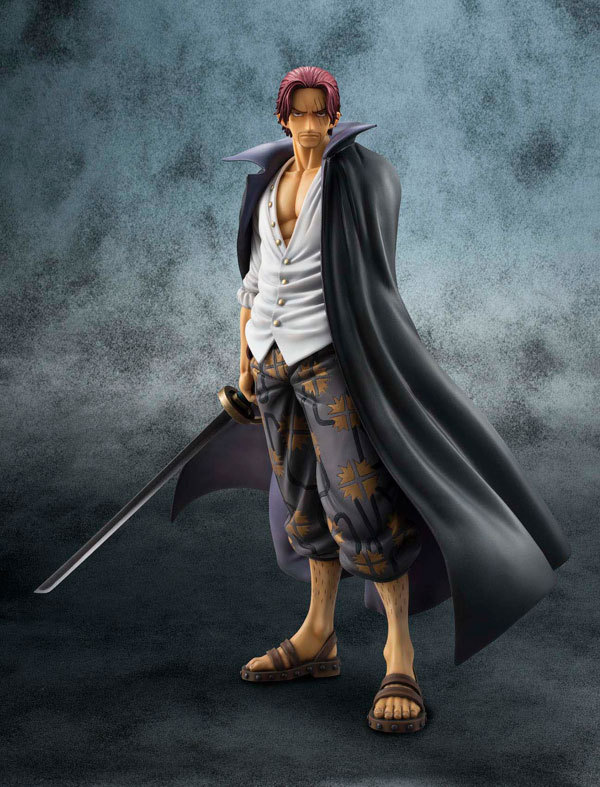 One Piece 2 Year Later Akakami no shankusu 25 CM PVC Action Figure Doll Toys