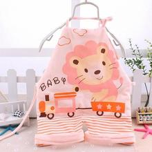Fashion Baby Boy Girl Cotton Rompers Clothes Newborn Kids Sleeveless Lacing Bellyband Cartoon Animal Style 0-12 Months