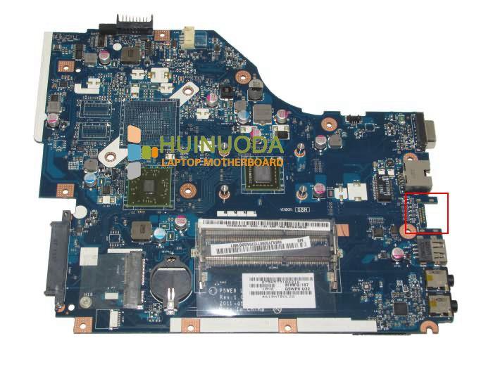NOKOTION P5WE6 LA-7092P For ACER Aspire 5253 Laptop Motherboard MBNCV02002 Mainboard CPU 100% Full Tested