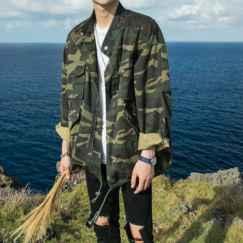 ФОТО The spring of 2016 soldiers in camouflage jacket, light and nice leisure fashion collar men climb jacket m - xl high quality