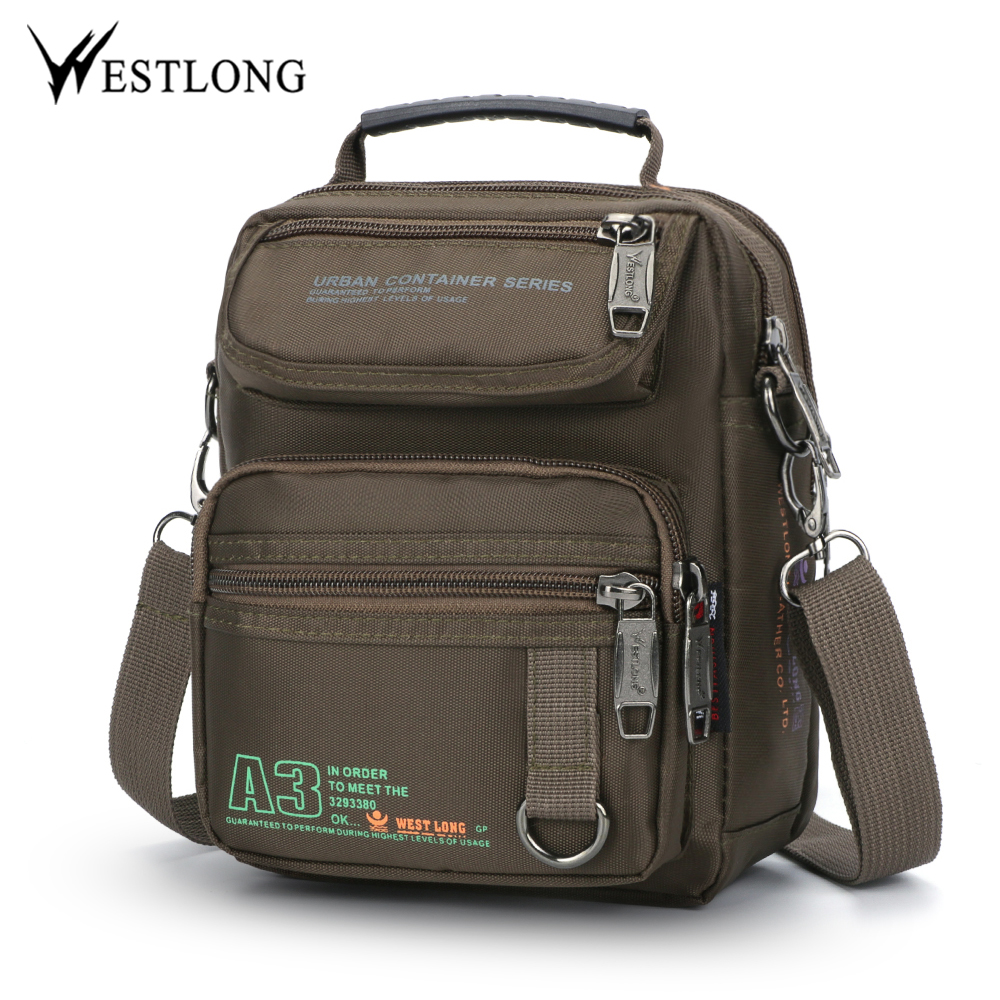 WESTLONG 3707W Men Messenger Bags Casual Multifunction