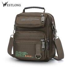 New 3707W Men Messenger Bags Casual Multifunction Small Trav