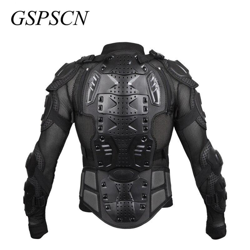 GSPSCN Moto armure corporelle complète Motocross veste colonne vertébrale poitrine protection gear Motocross Motos protecteur Moto Moto veste - 6