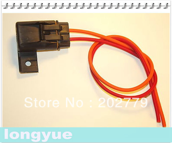 longyue 10pcs fuel pump fuse connector wiring harness 85 92 camaro firebird  tpi tbi 20cm wie-in lamp bases from lights & lighting on aliexpress com