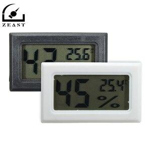 Novedad, termómetro Digital para cigarros en blanco y negro, termómetro con Monitor de humedad, medidor para humidificador de calidad duradera