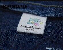 Dikiş etiketleri/özel marka etiketleri, giyim etiketleri, DİKİŞ MAKİNESİ, kumaş % 100% pamuk, özel metin (MD534)