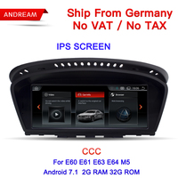 8.8 Android Screen Vehicle multimedia player For BMW Series 5 E60 E61 E62 gps navigation Wifi Germany Free Shipping EW963B CCC