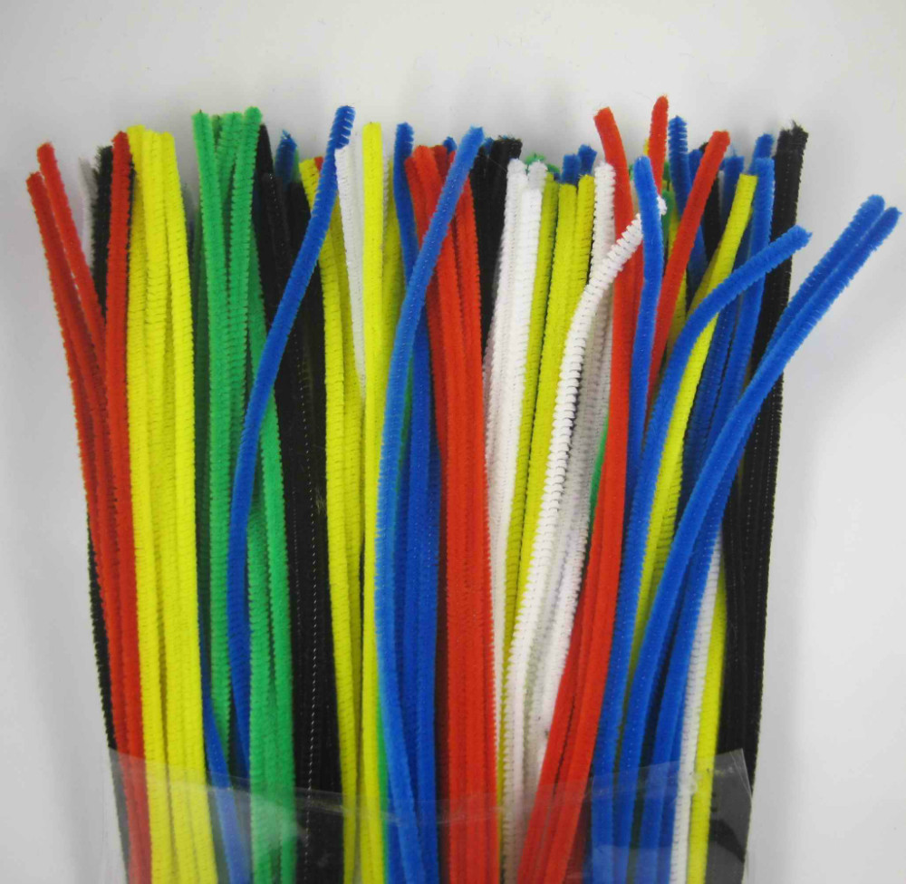 12 Quot X 6mm Wholesale Mix Color Chenille Stems Pipe Cleaners