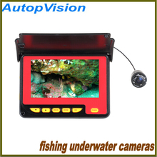 4.3Inch 30M LCD TFT Underwater Fishing HD Camera System 1000TV Lines Underwater Camera Record with 4pcs IR LEDs