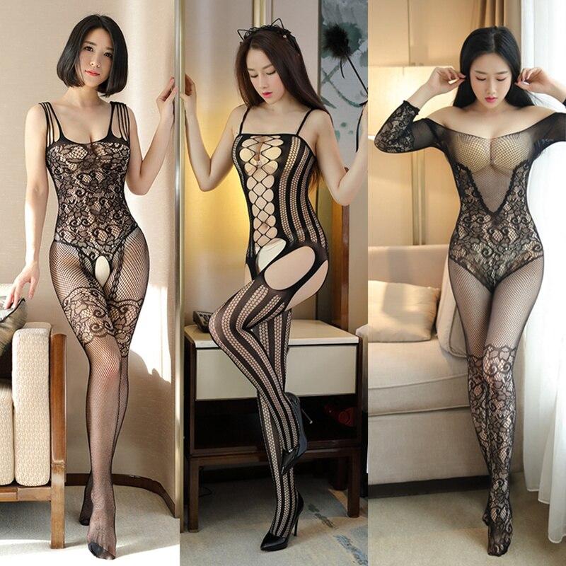 Women Plus Size Sexy Lingerie Open Crotch Teddy Babydoll Porn Erotic Lingerie Sexy Hot Erotic Underwear Sleepwear Sexy Costumes