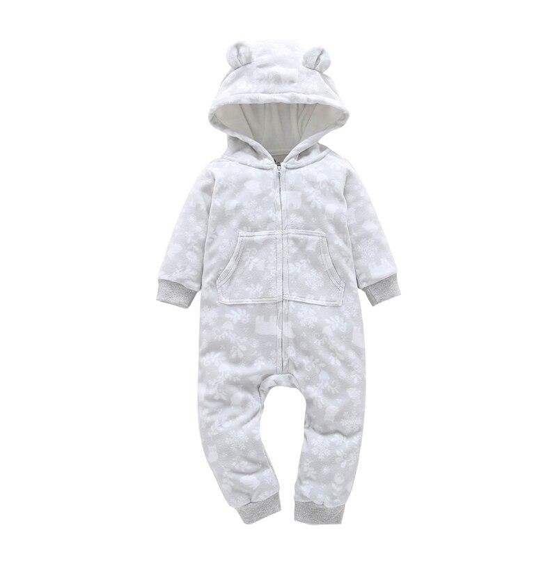 HTB1hZI jZbI8KJjy1zdq6ze1VXaN kid boy girl Long Sleeve Hooded Fleece jumpsuit overalls red plaid Newborn baby winter clothes unisex new born costume 2019