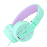 I35 Stereo Lightweight Foldable Headphones Adjustable Headband Headsets With Microphone 3 5mm For Cellphones Smartphones