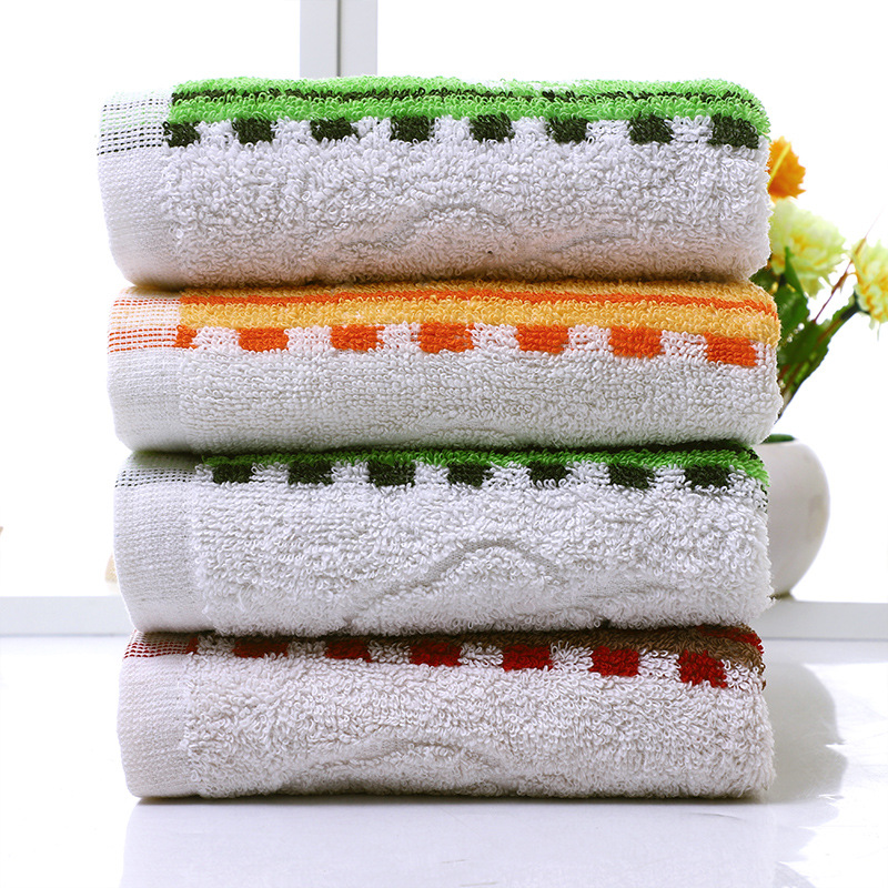 Sweat Towels Sign: Soft Absorbent Cotton Face Towel Beauty Pool Towels Beach