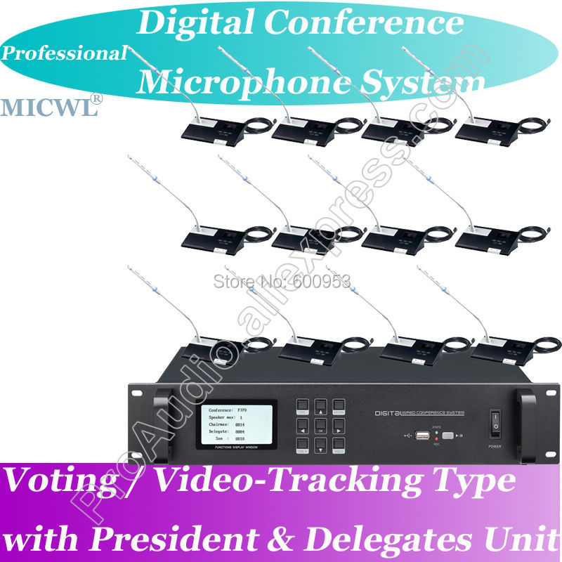 Top Ranking MICWL Wired Digital Conference Microphone