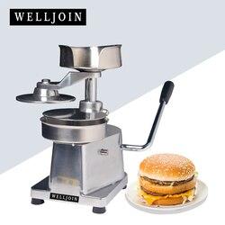 Handlowych uchwyt prasa do hamburgerów maszyny  hamburger foremka do mięsa  hamburger formy  100mm w Części do narzędzi od Narzędzia na