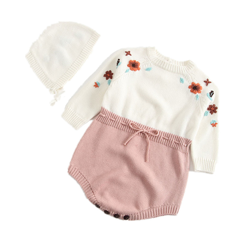 2019 Baby Girl Long Sleeve Rompers New Born Baby Ruffle One-piece Kids Cute Clothes Korean Style Quality Infant Romper Mother & Kids Rompers